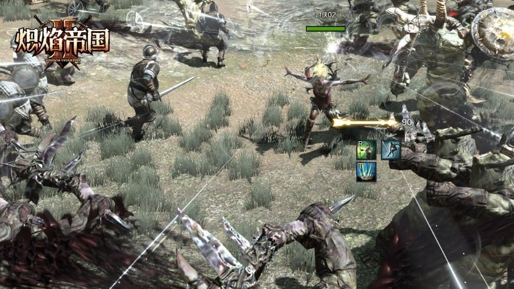 Kingdom Under Fire II - Ranger combat screenshot 2