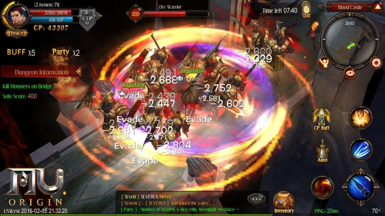 MU Origin screenshot 1