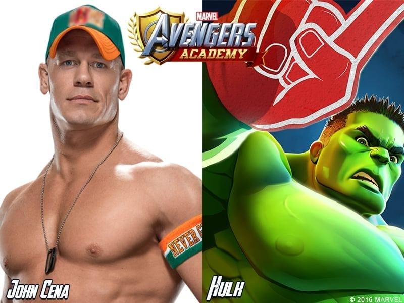 Marvel Avengers Academy - John Cena is the Hulk