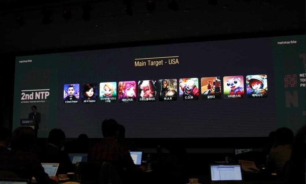 Netmarble - 2016 mobile games for USA