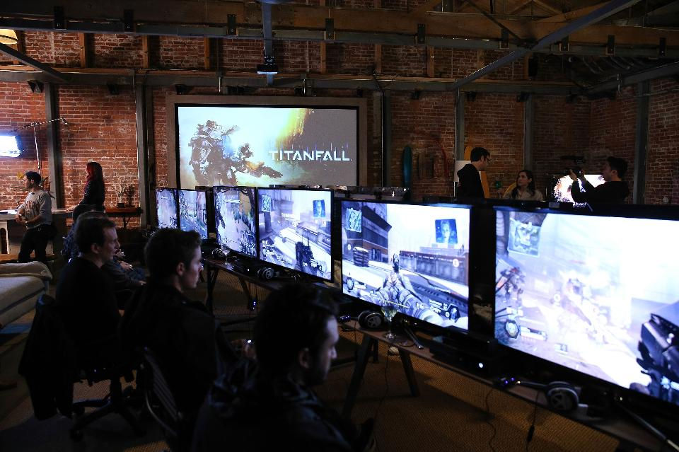 Titanfall preview in 2014