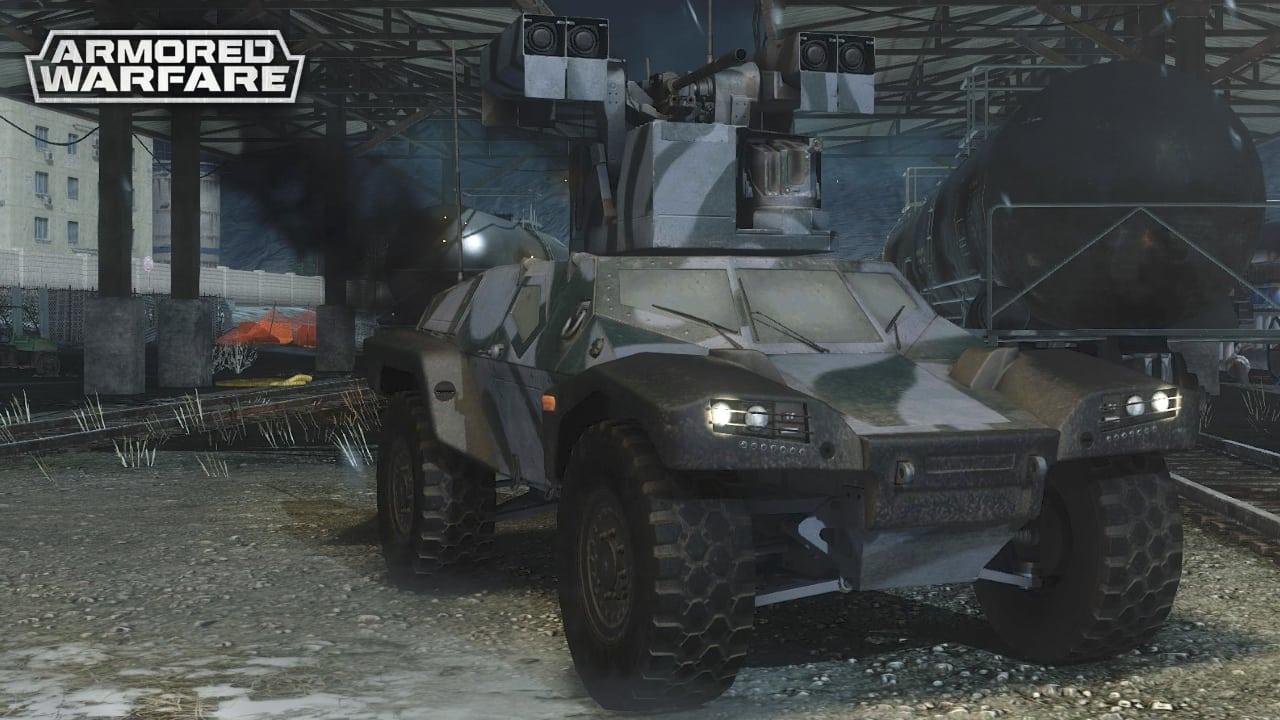 Armored Warfare - Combat Reconnaissance Assault Buggy
