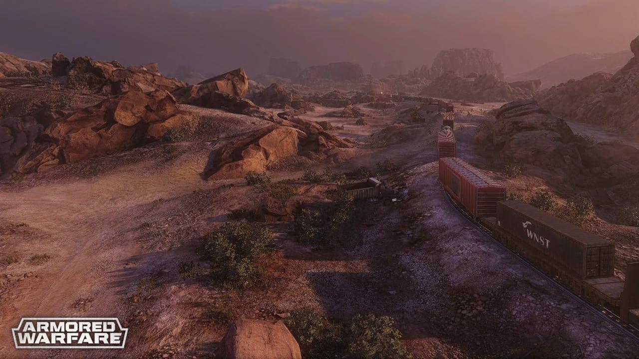 Armored Warfare - Update 0.14 map 1