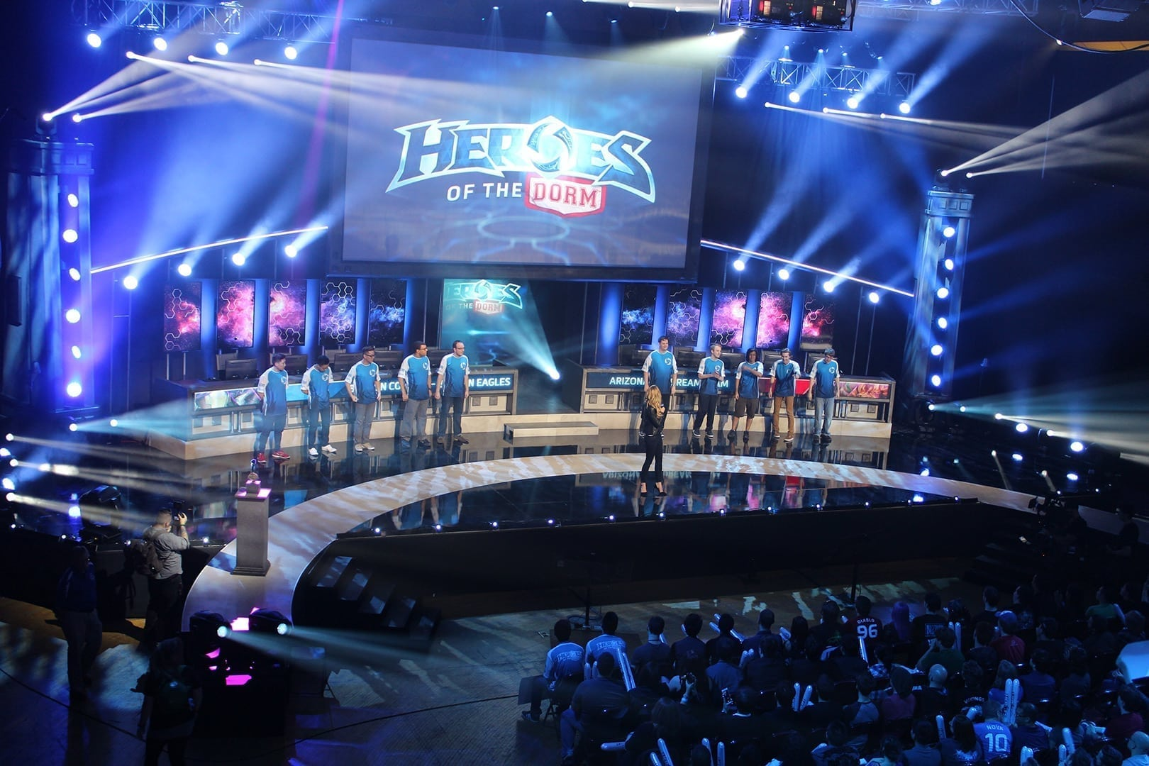 Heroes of the Dorm event photo