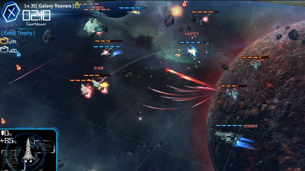 Galaxy Reavers screenshot 1