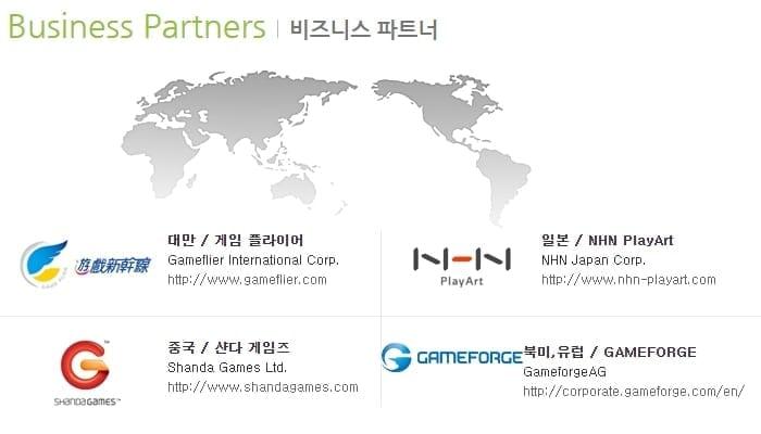Lion Games - Business partners