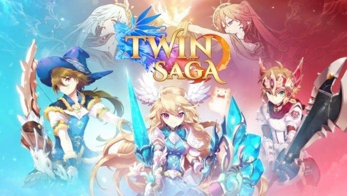 Twin Saga – Aeria Games announces new anime MMORPG by X
