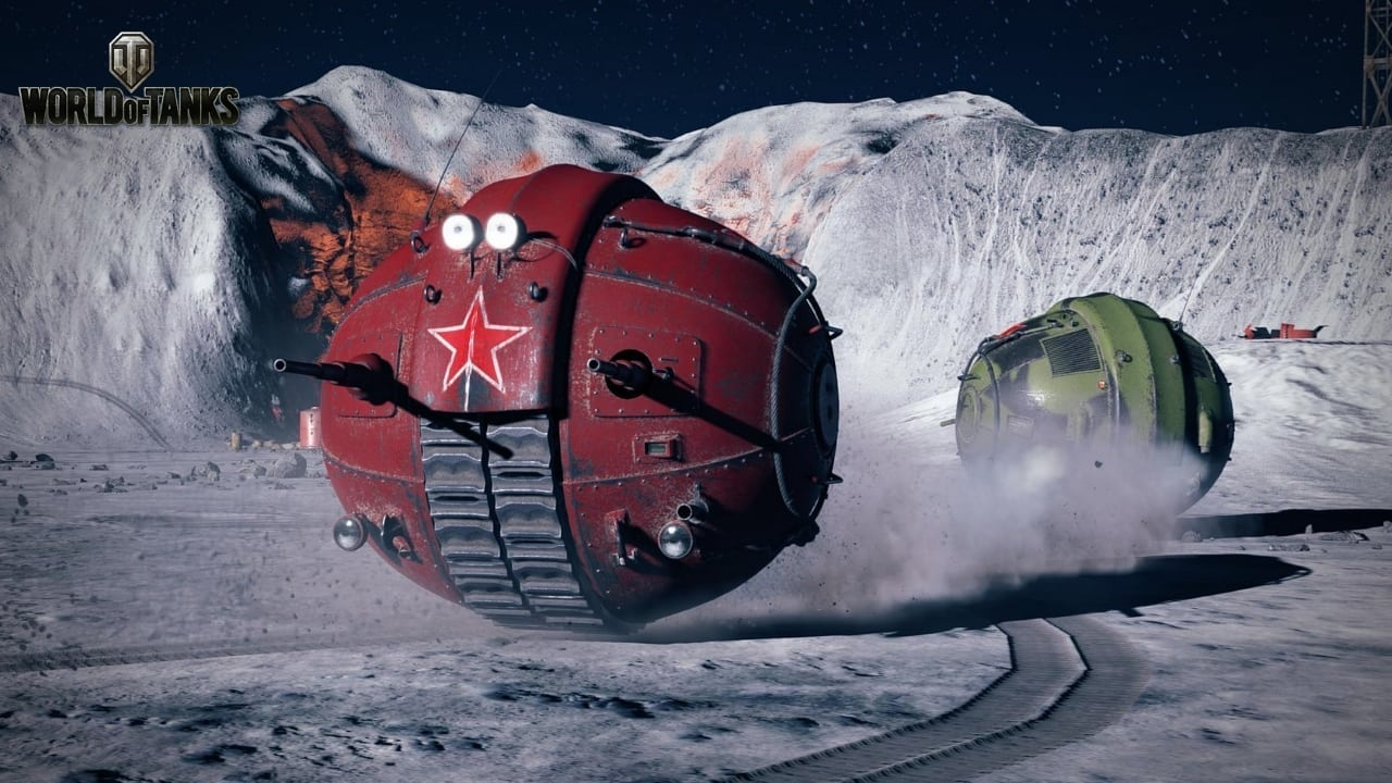 World of Tanks - Moon Mayhem screenshot 2
