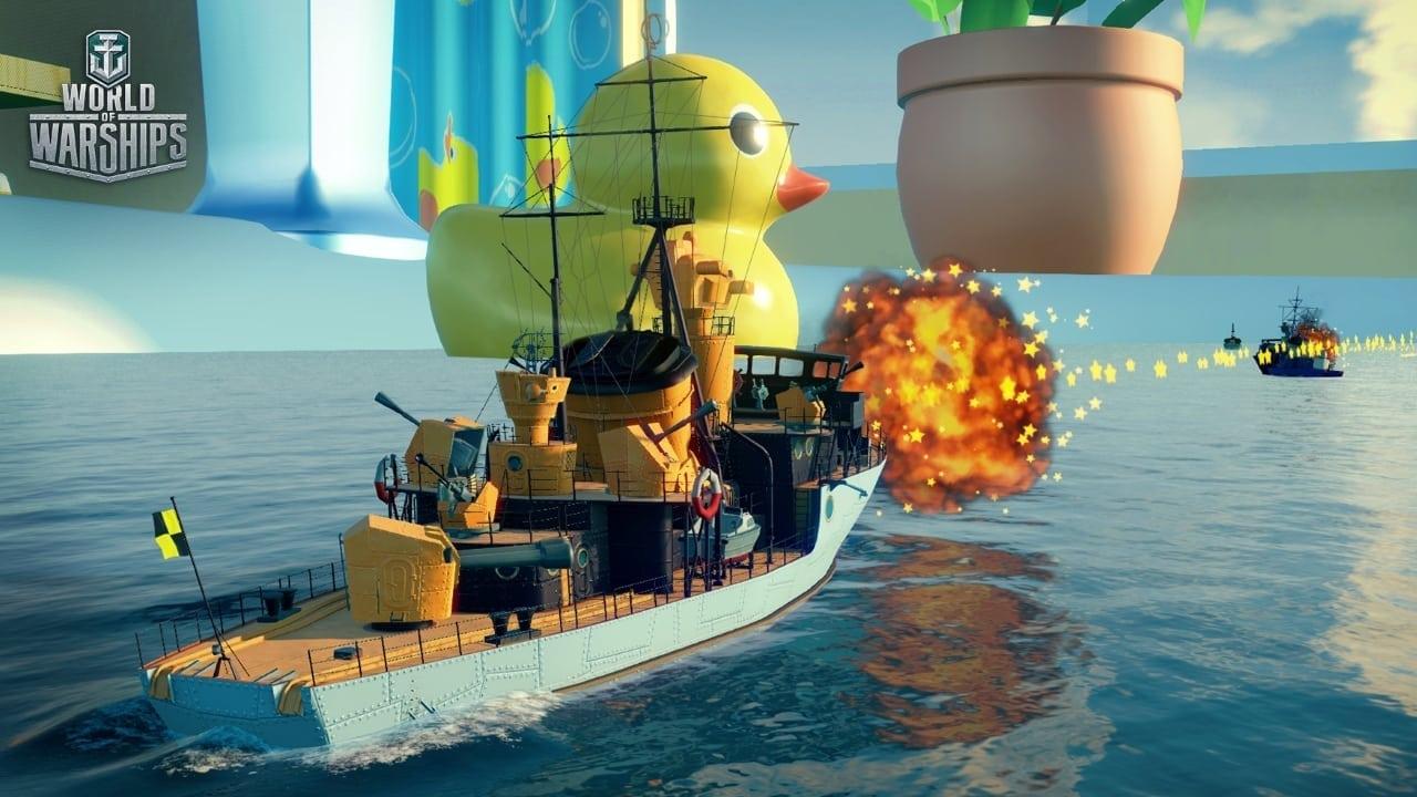 World of Warships - Ruinberg In Jacuzzi screenshot 1