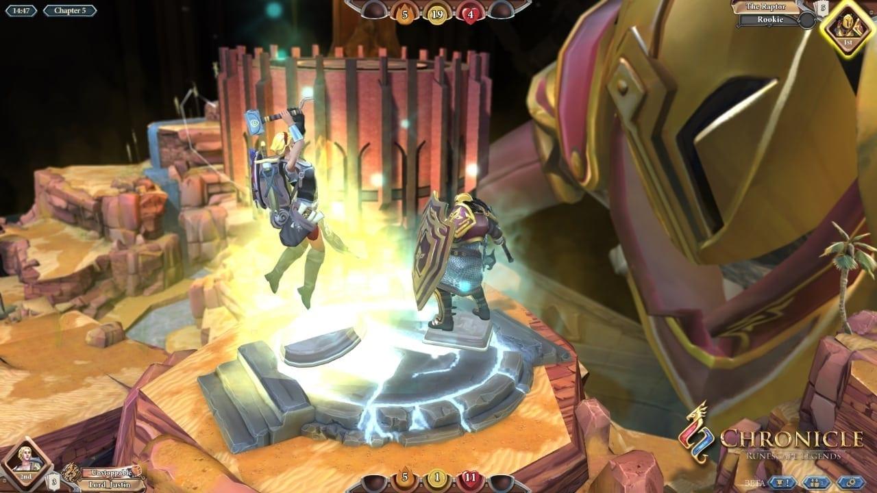 Chronicle Runescape Legends screenshot 2