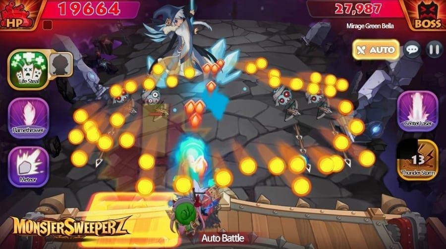 Monster Sweeperz screenshot 1