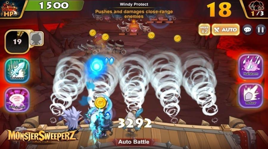 Monster Sweeperz screenshot 2