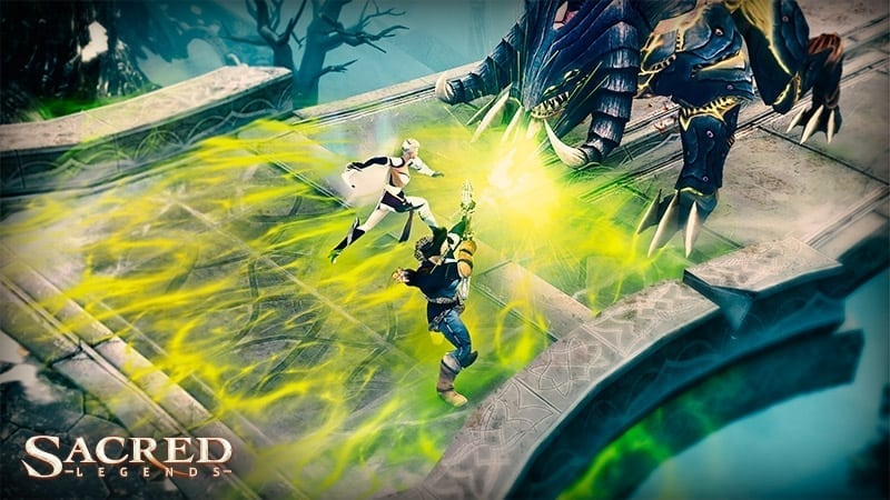 Sacred Legends screenshot 2