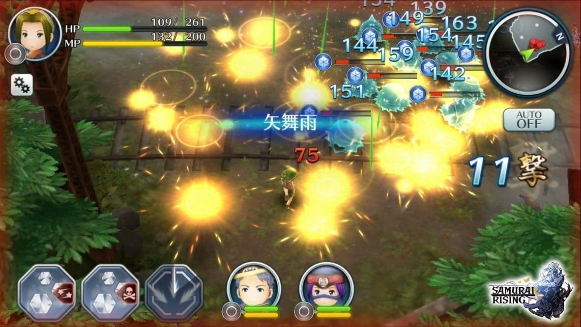 Samurai Rising screenshot 1