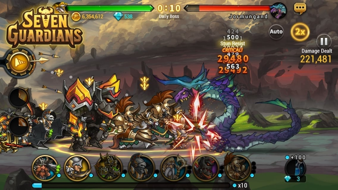Seven Guardians screenshot 2