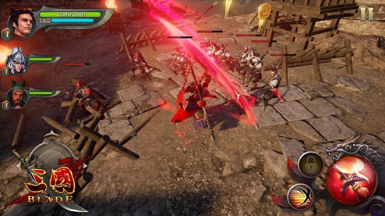 Three Kingdoms Blade screenshot 2
