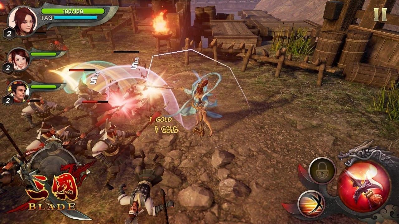 Three Kingdoms Blade screenshot 3