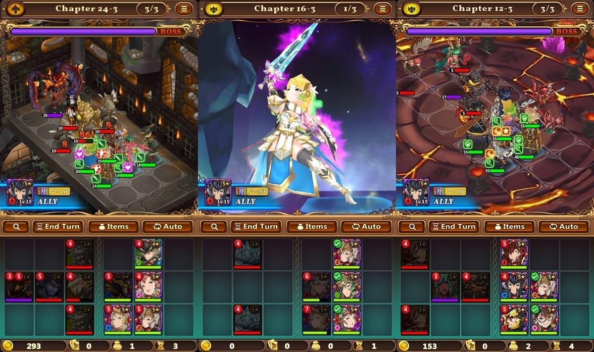 Valiant Force screenshot 1