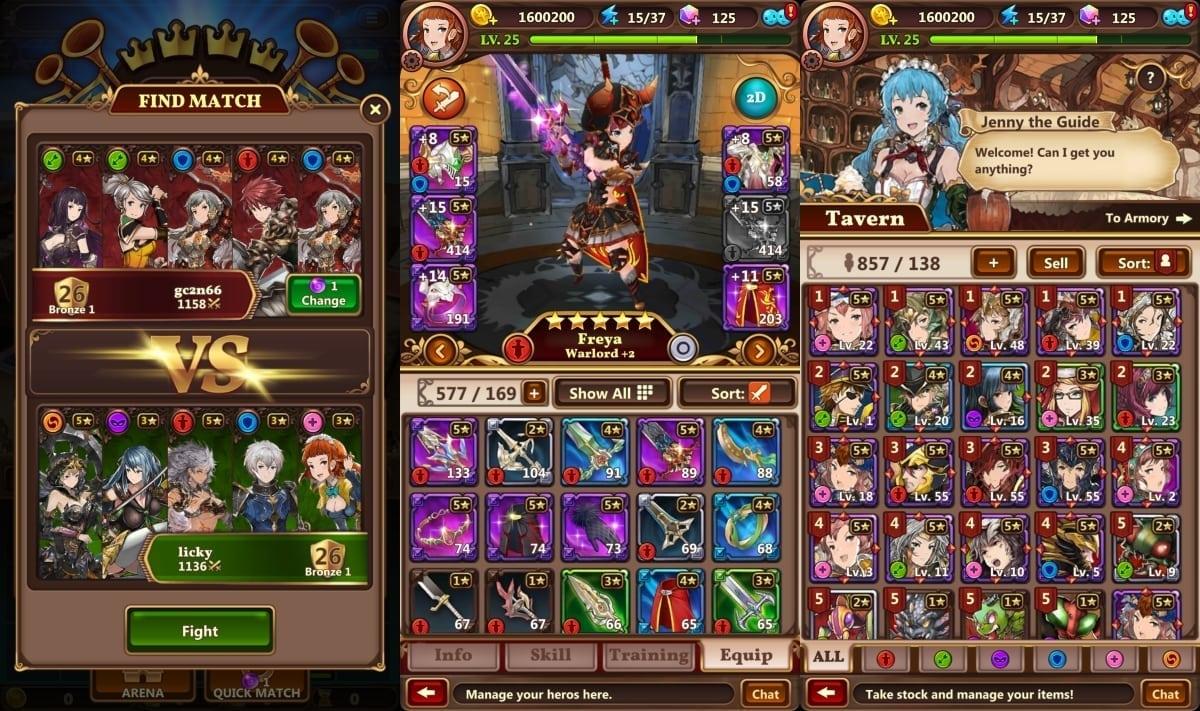 Valiant Force screenshot 2