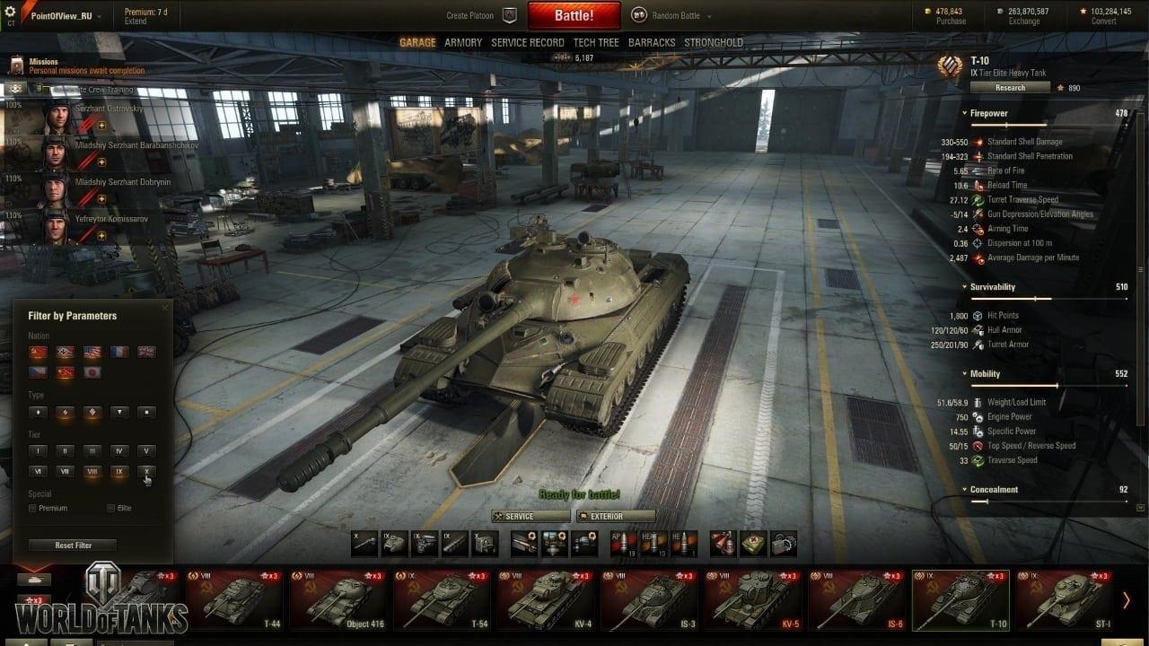 World of Tanks update 9.15 screenshot 0