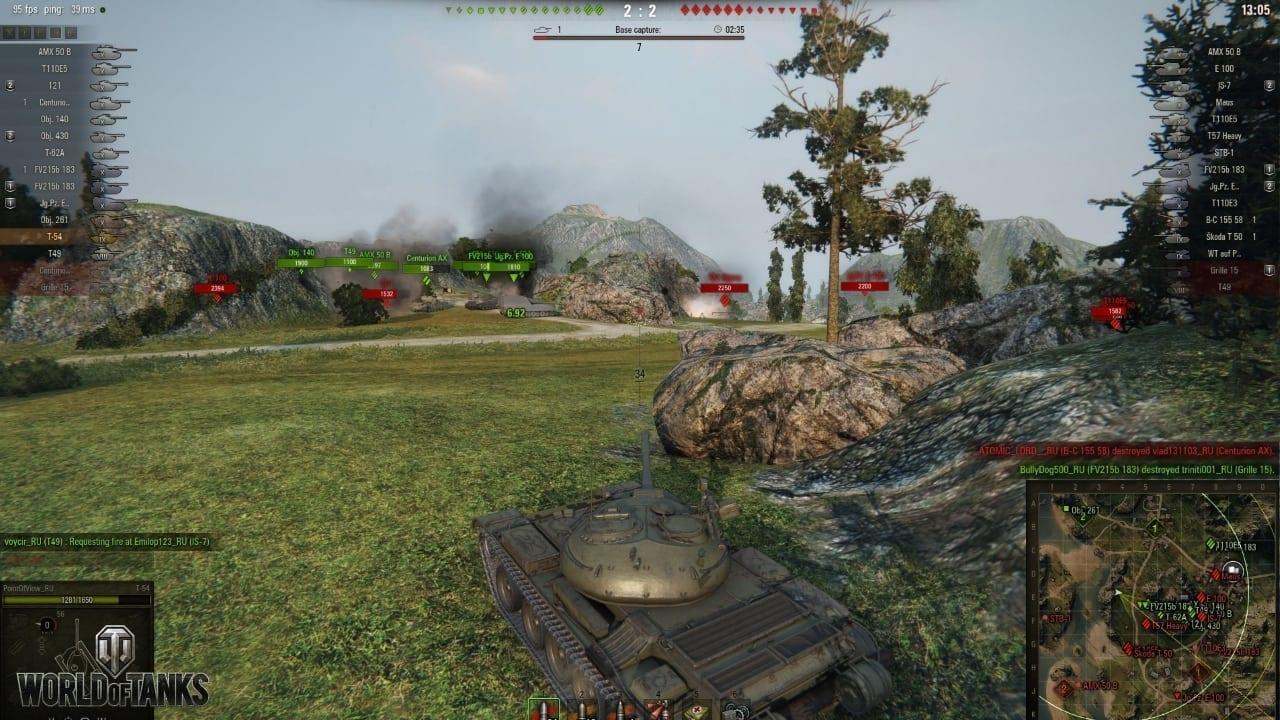 World of Tanks update 9.15 screenshot 1