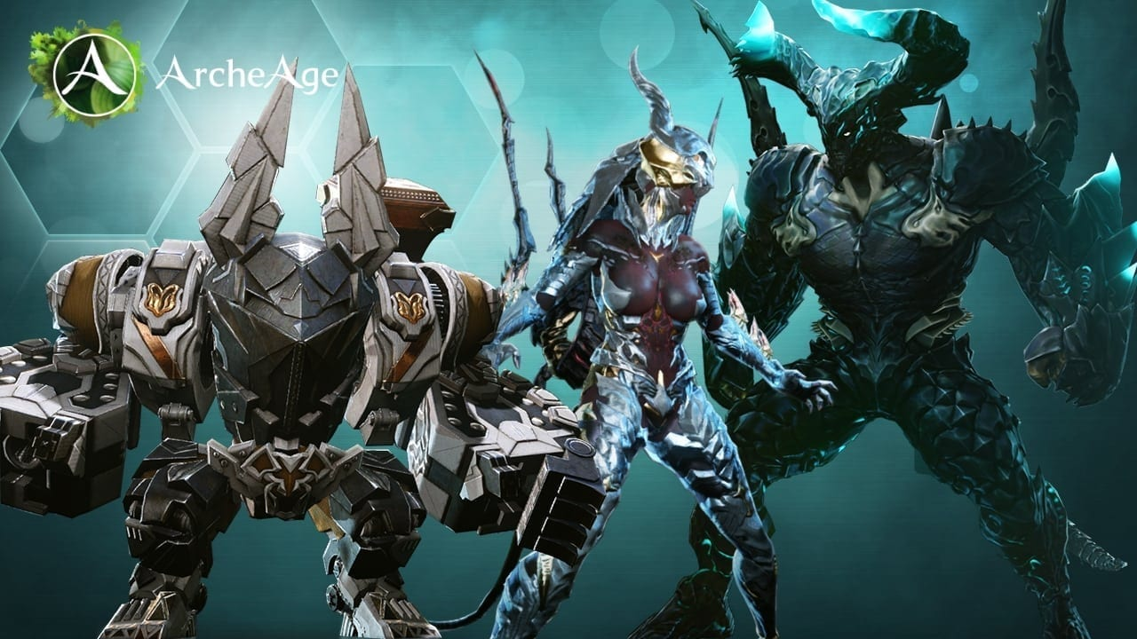 ArcheAge 3.0 - Transformations and summon