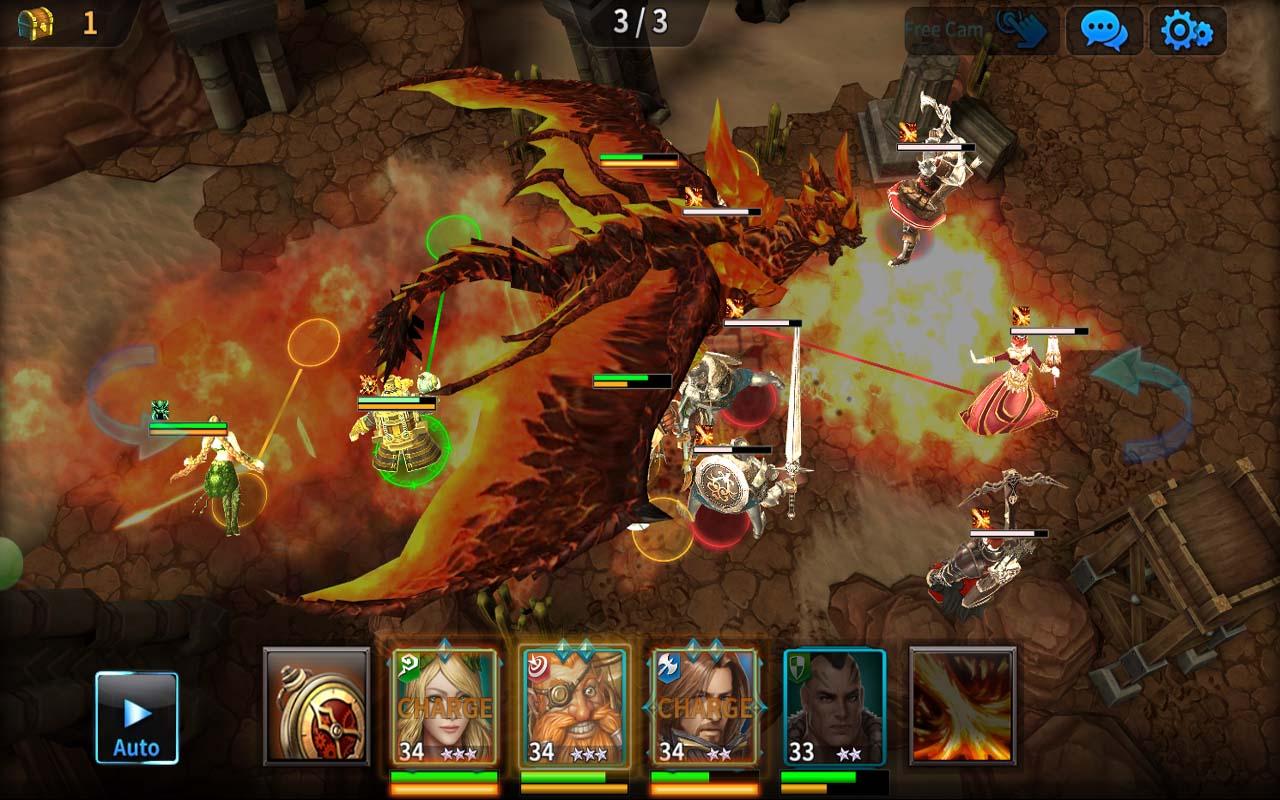 Kingdom of War screenshot 1
