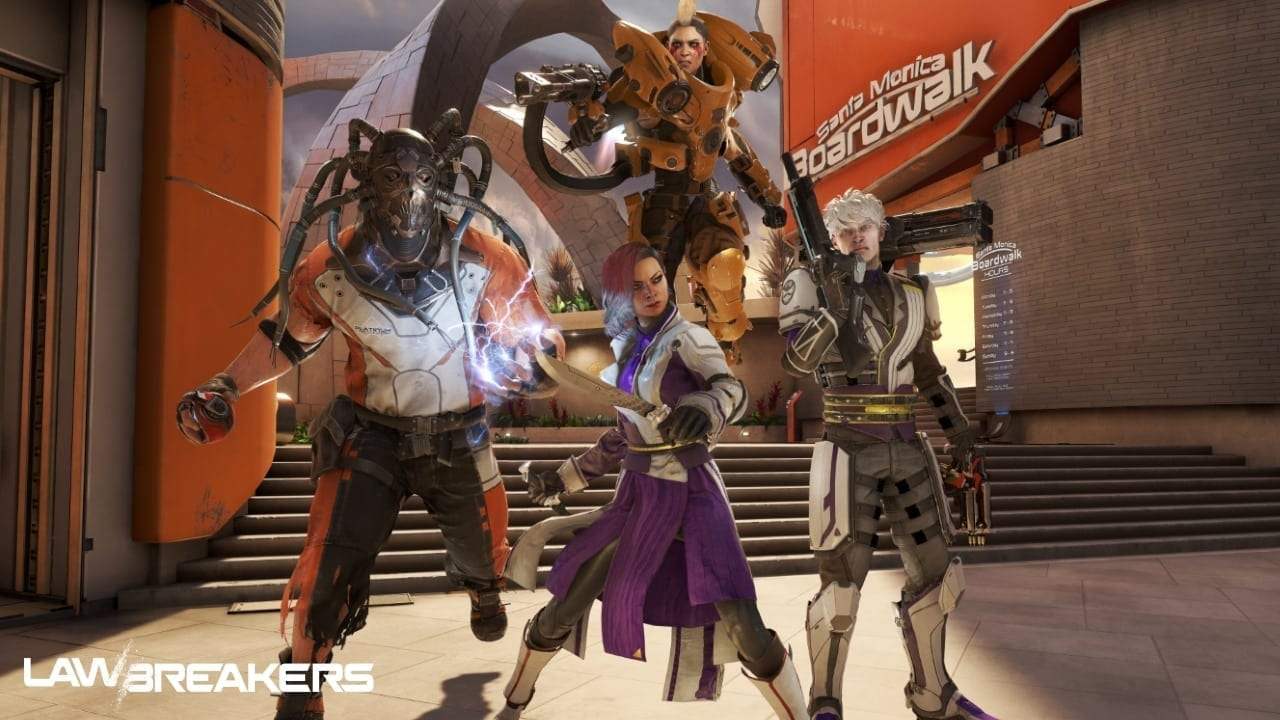LawBreakers - Breakers group