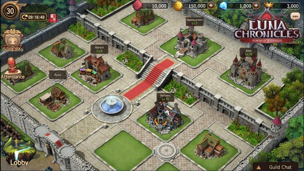 Luna Chronicles - Guild screenshot 1