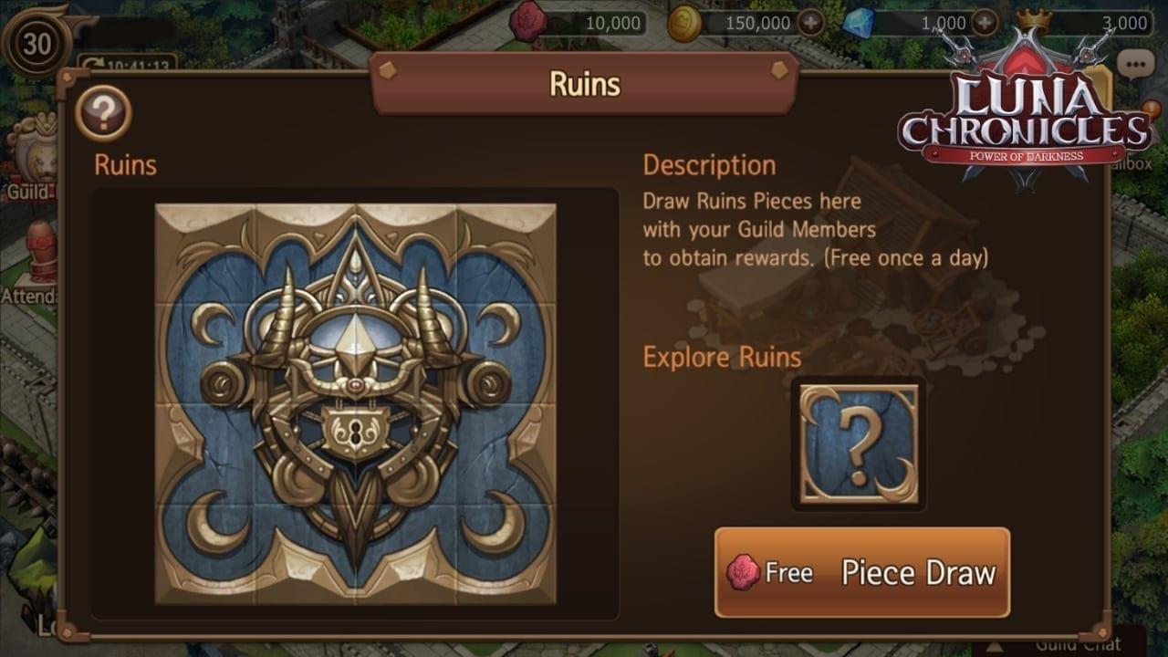 Luna Chronicles - Guild screenshot 3