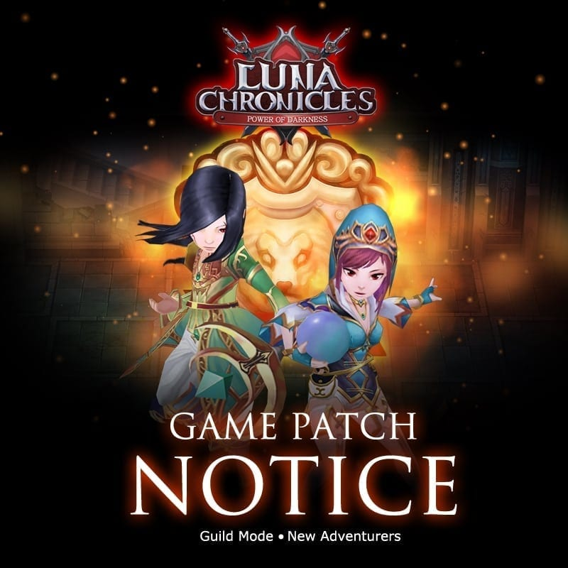 Luna Chronicles patch notice