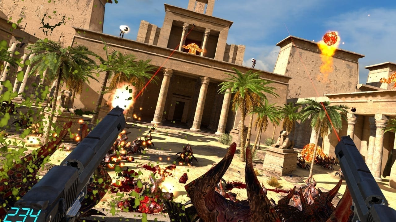 Serious Sam VR screenshot 1