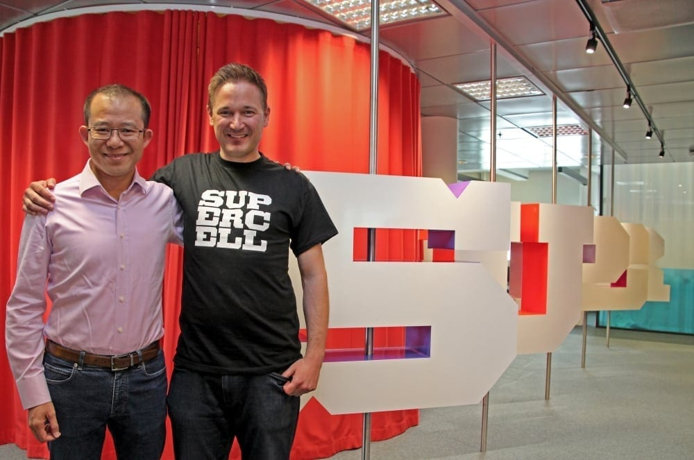 Tencent and Supercell CEOs