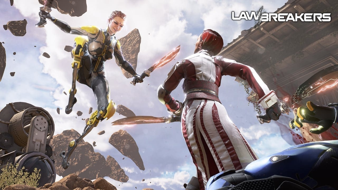 LawBreakers - Assassin screenshot