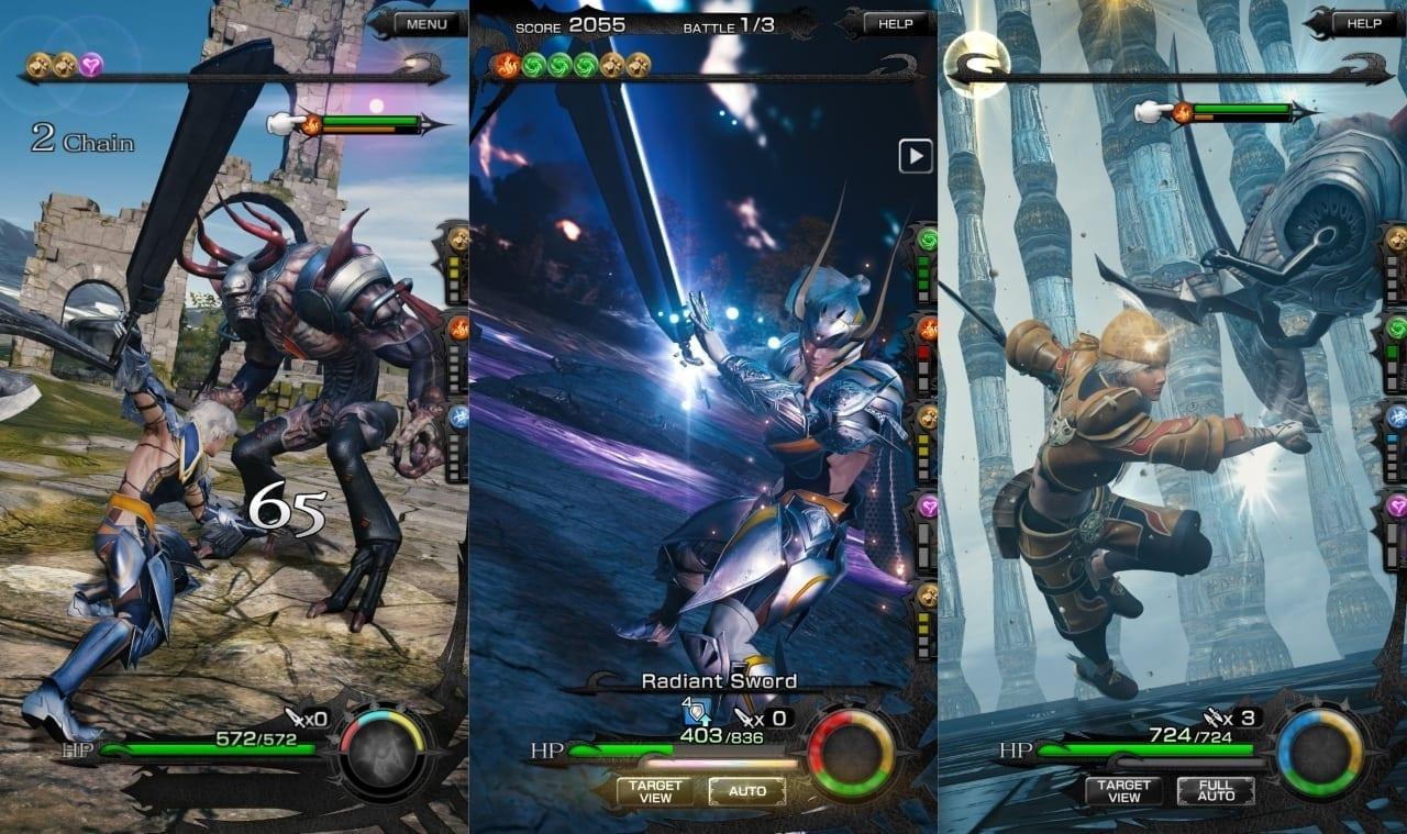 Mobius Final Fantasy screenshot