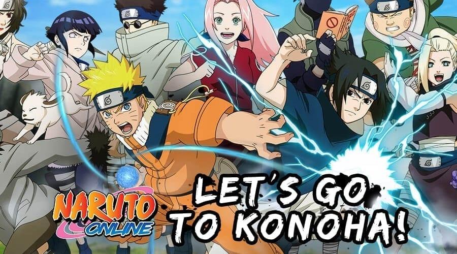 Naruto Online banner