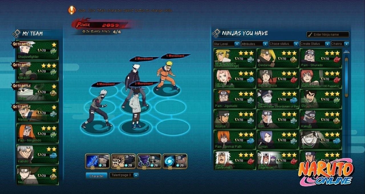 Naruto Online screenshot 1