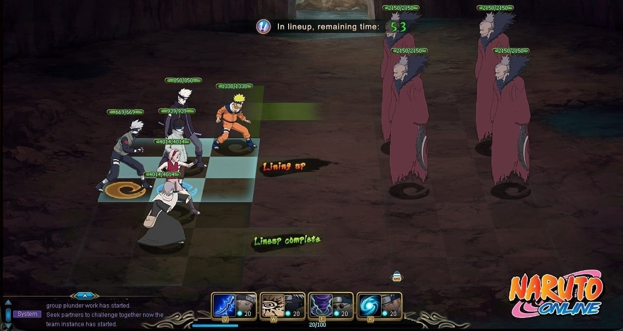 Naruto Online screenshot 2