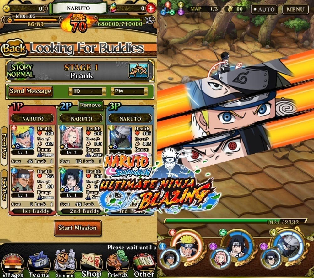 Naruto Shippuden Ultimate Ninja Blazing screenshot 1