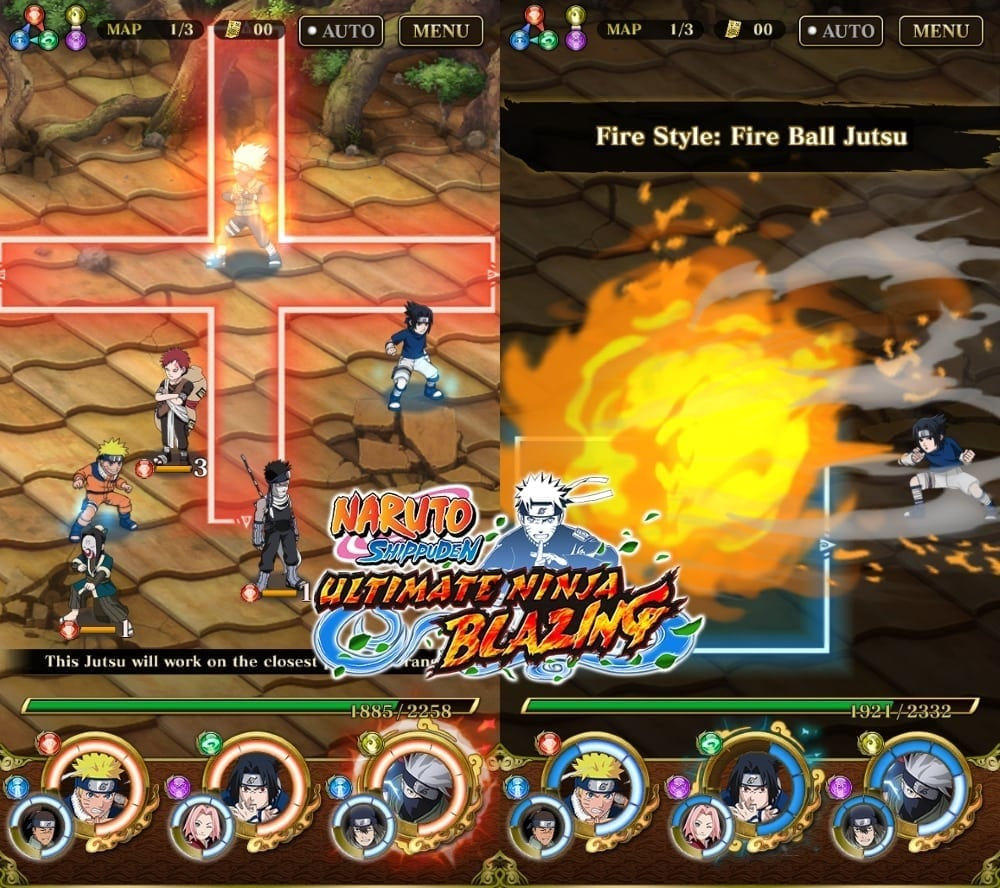 Naruto Shippuden Ultimate Ninja Blazing screenshot 2