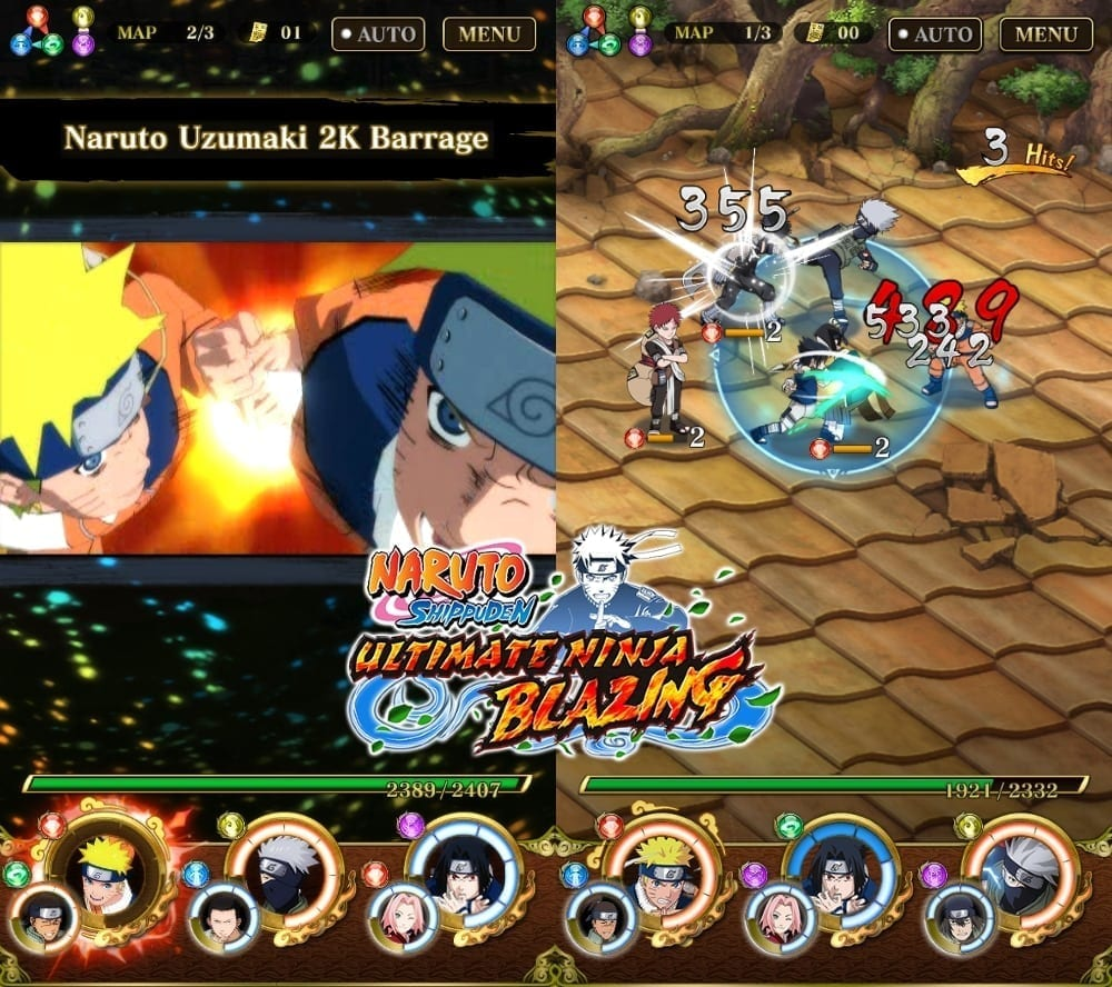 Naruto Shippuden Ultimate Ninja Blazing screenshot 3