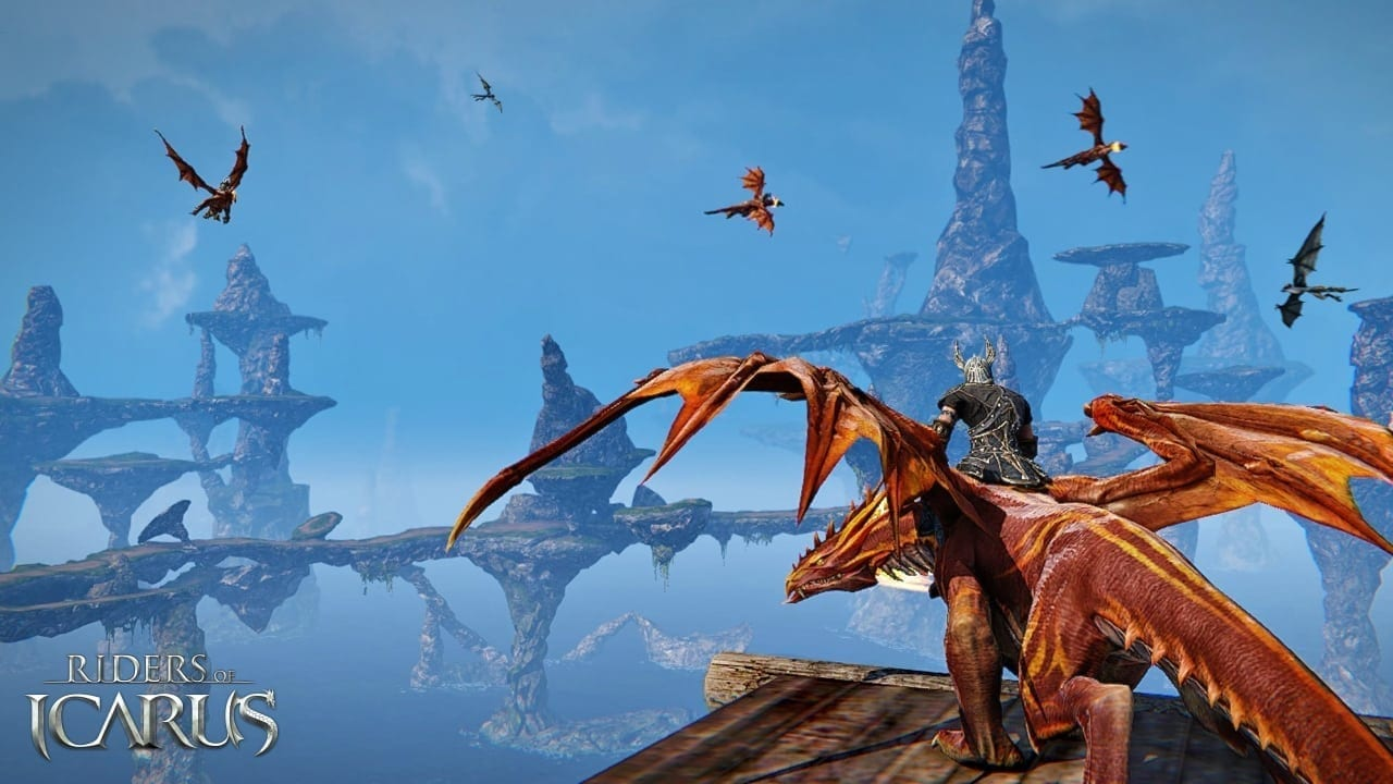 Riders Of Icarus Soar High As Open Beta Phase Begins In