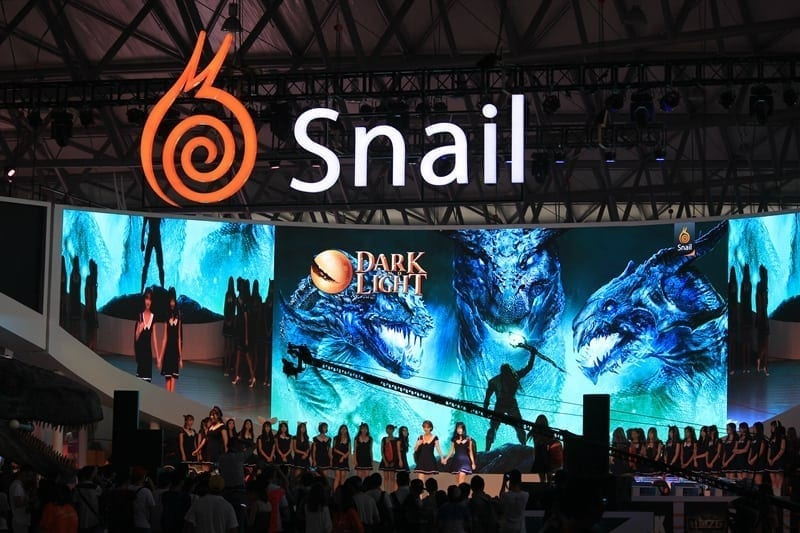 Snail Games ChinaJoy 2016 booth photo