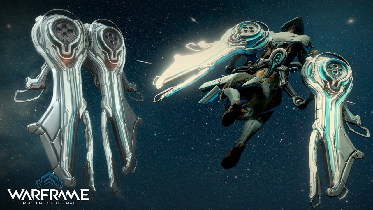 Warframe Specters of the Rail - Archwing Healer 1