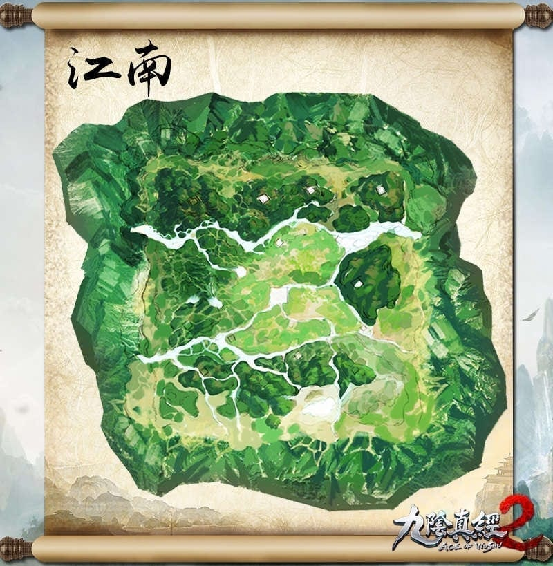 Age of Wushu 2 - Map of Jiangnan