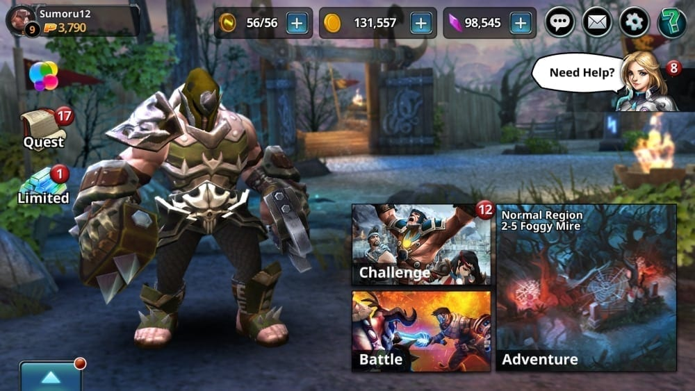 Chronoblade screenshot 1