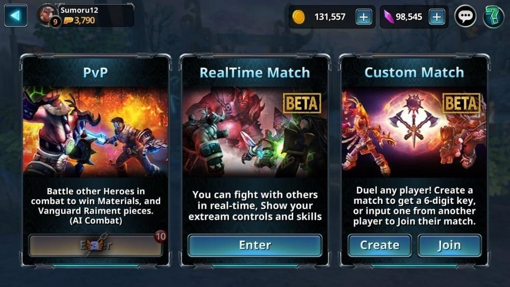 Chronoblade screenshot 2