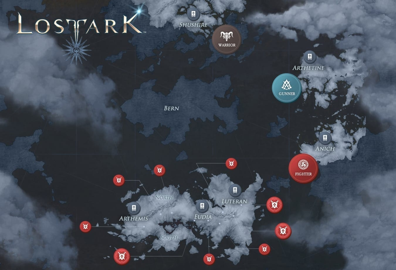 Lost Ark CBT map