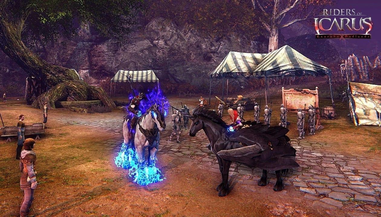Riders of Icarus - Exarahn Badlands screenshot 2