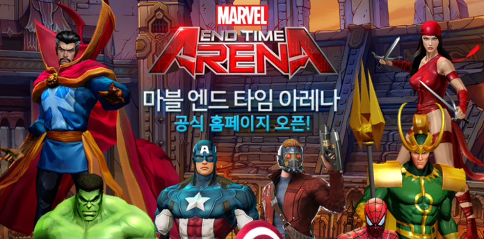 Marvel End Time Arena – Marvel universe MOBA launching this